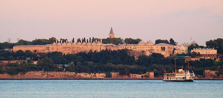 The Topkapı Palace (Turkish: Topkapı Sarayı[1] or in Ottoman Turkish: طوپقپو سرايى) is a large palace in Istanbul, Turkey, that was the primary residence of the Ottoman Sultans for approximately 400 years (1465-1856) of their 624-year reign.