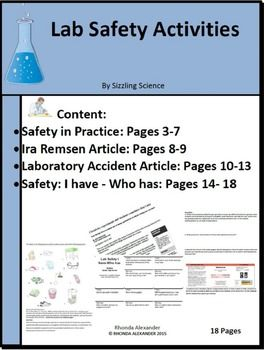 17 best ideas about Lab Safety Activities on Pinterest | Lab ...