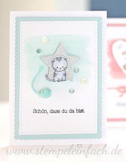 stempel einfach ★ Stampin Up Blog aus Köln Bonn ★: Babykarten...