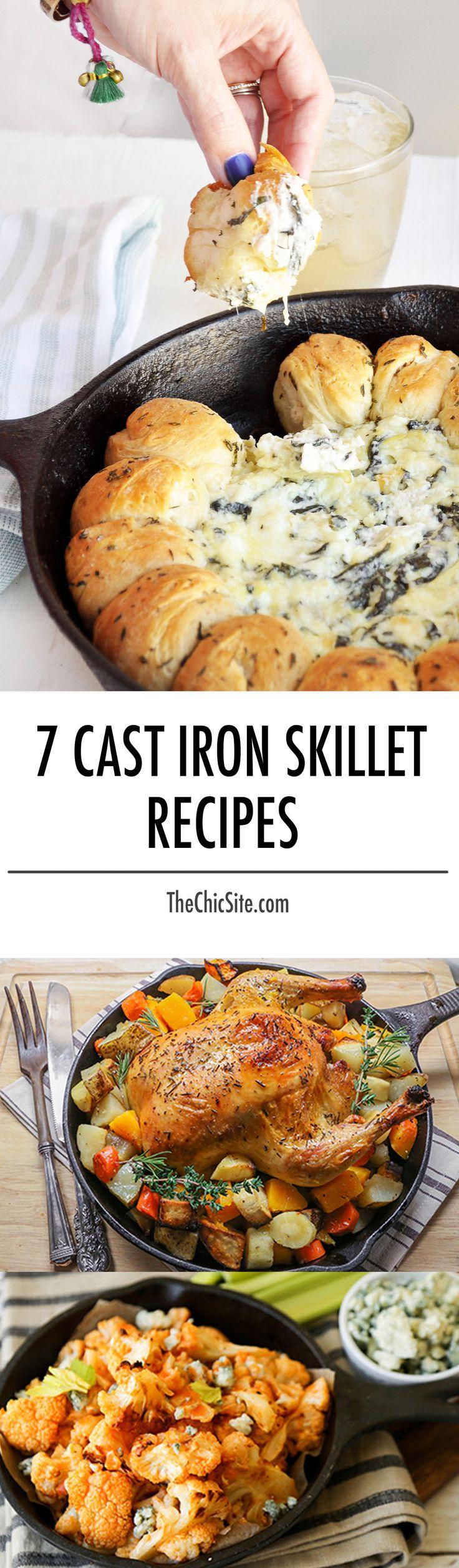 cast iron skillet recipes                                                                                                                                                                                 More