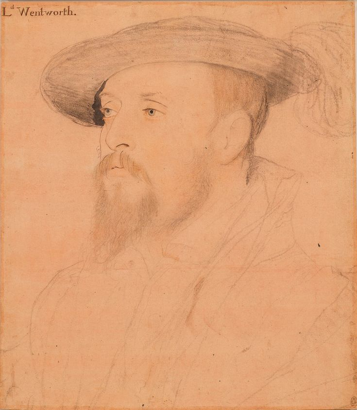 Hans Holbein the Younger (1497/8-1543) - Thomas, 1st Baron Wentworth (1501-1551)