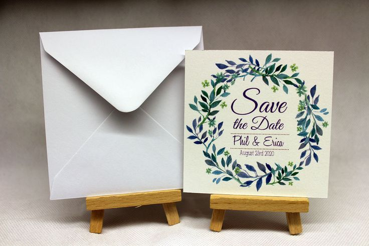 cards Personalised Magnetic Wedding Save the Date and envelopes packs of 10-50 in Home, Furniture & DIY, Wedding Supplies, Cards & Invitations   eBay!