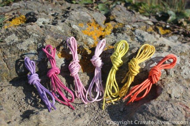 http://www.cravate-avenue.com/280-lacets-de-couleur-lacet #lacets #lacets de couleur #coton #laces #men #accessories #menaccessories #mode #fashion #modehomme