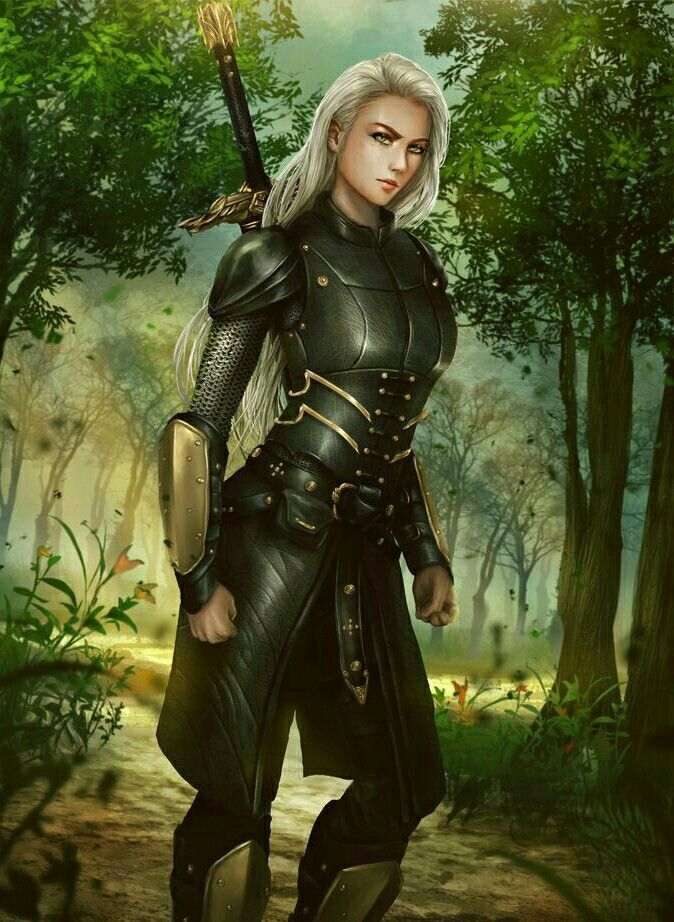 Female Fighter Adventurer - Pathfinder PFRPG DND D&D d20 fantasy