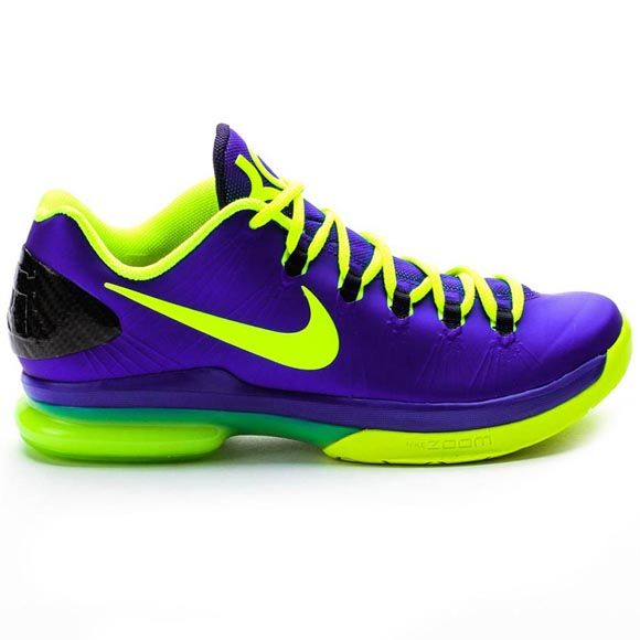 Nike 585386 400 Nike KD 5 Elite Mens (Hyper Blue/Volt/Blackened Blue) at  Shoe Palace