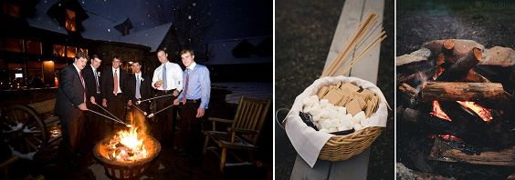 smores | marshmallows arrosto | Un matrimonio dal profumo di legna ardente e caldarroste | A wedding day by the smell of burning wood and roasted chestnuts http://theproposalwedding.blogspot.it/ #woodsy #wedding #wood #wooden #fall #autumn #matrimonio #autunno #legno