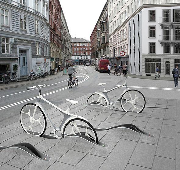 Station Vélo / Rafaa   AA13 – blog – Inspiration – Design – Architecture –…