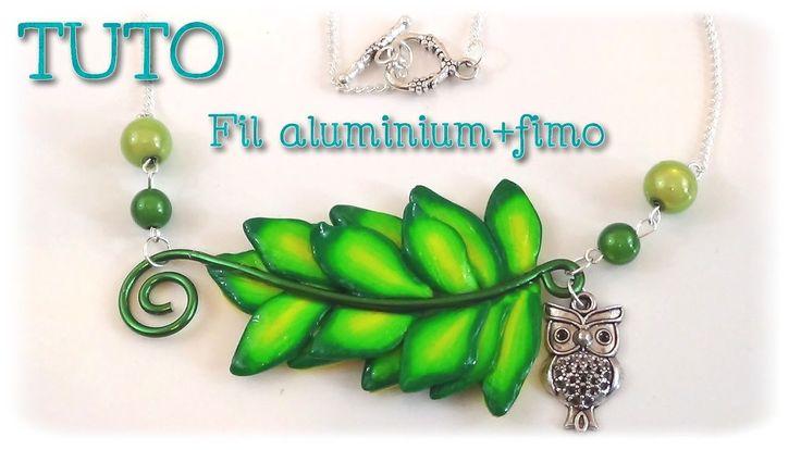 Les 25 meilleures id es de la cat gorie fabrication avec - Tuto bijoux pate fimo et fil aluminium ...