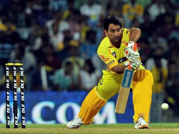 """#IPL 2012: #MSDhoni admits #CSK had a 'rusty' start to their title defence--    Chennai Super Kings suffered a eight-wicket defeat to Mumbai Indians in the tournament opener and skipper Mahendra Singh Dhoni admitted it was a """"rusty"""" start to their title defence in IPL V at Chennai on Wednesday.    Chasing 112 to win, Mumbai Indians scored 115-2 with 19 balls to spare and Dhoni said another 30-odd runs could have made a difference on this pitch at the MA Chidambaram Stadium."""