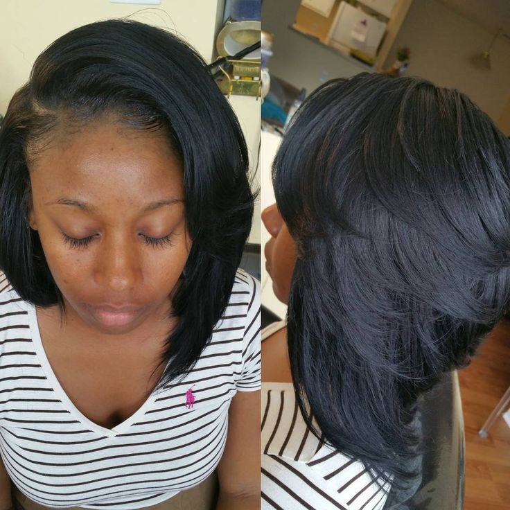 Swell 17 Melhores Ideias Sobre Layered Bob Hairstyles For Black Women No Hairstyles For Women Draintrainus