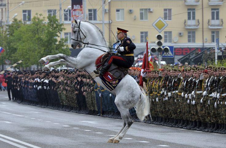 Россия празднует победу над нацистской Германией - VG