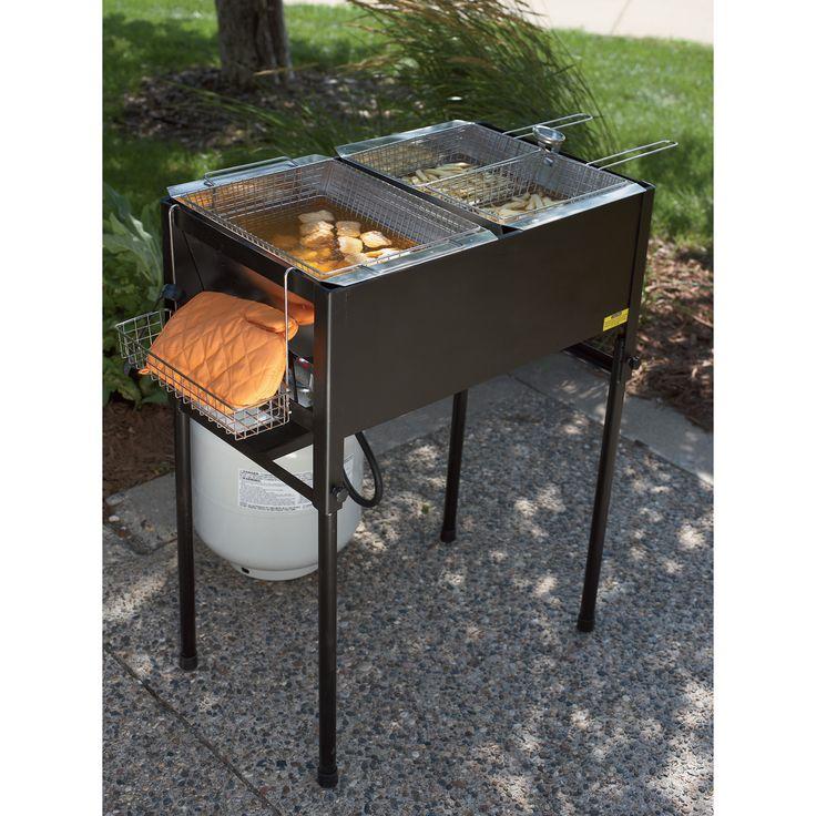 Kitchener Triple Basket Deep Fryer | Fryers, Roasters Accessories| Northern Tool   Equipment