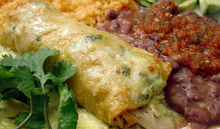 Sour Cream & Chicken Enchiladas