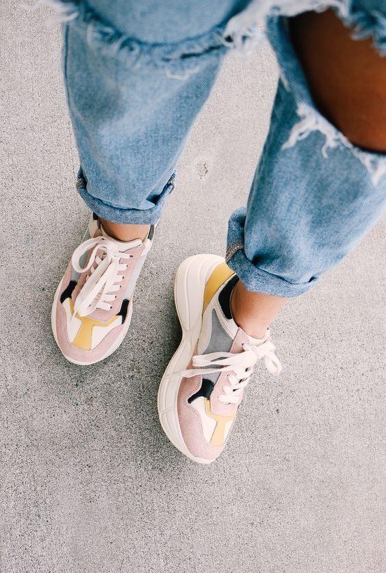 Cremefarben   Schoenen, Witte gympen, Gympen vrouwen