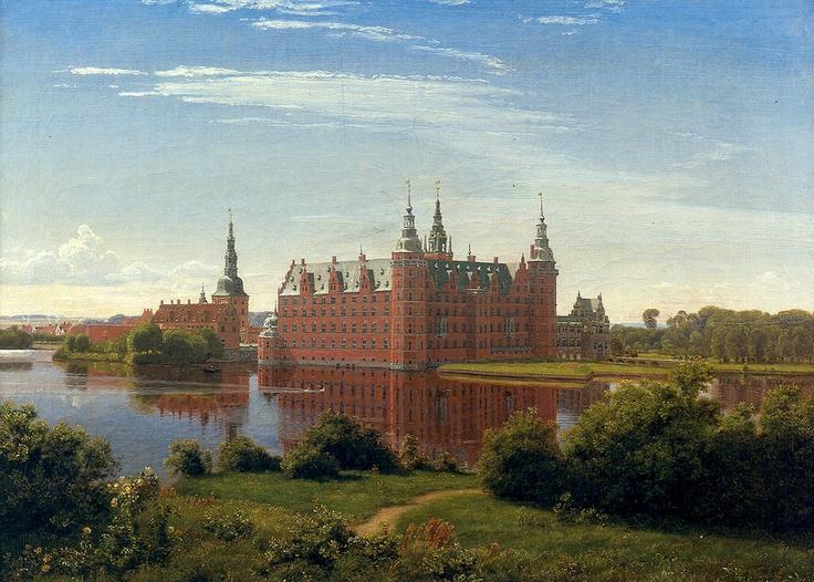 P.C. Skovgaard (1817-1875): Frederiksborg slot, 1841
