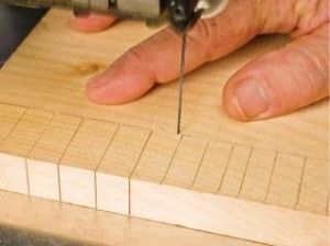 Cutting clean and crisp corners with a scroll saw can be intimidating for new woodworkers. Learn more about this basic scroll saw technique.