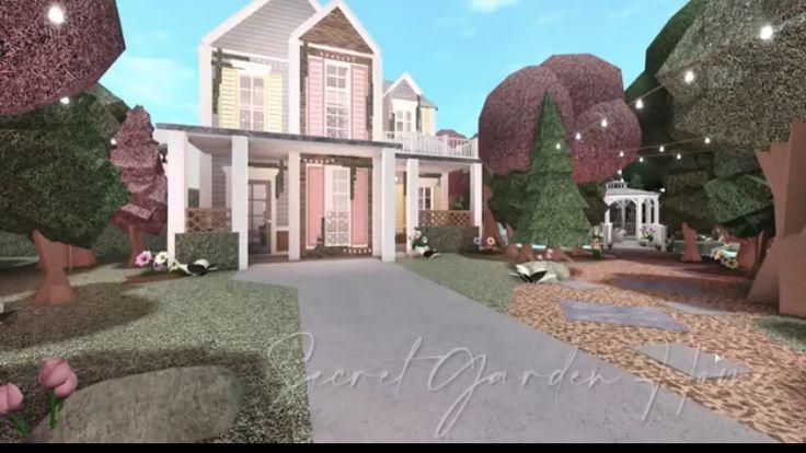 BLOXBURG| Fairytale Lakeside | House Build - YouTube in ...