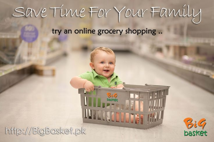 Save your family by giving them time and online grocery shopping ! That will show your love for your family and friends.  Try http://BigBasket.pk/ for online grocery shopping .. #BigBasket #Pakistan #Shopping #Grocery #karachi #News #SEO #Marketing #baby #family #Sunday #friends #Shop #Hiperstart #Imtiaz #Metro #dolmen #mall #naheed