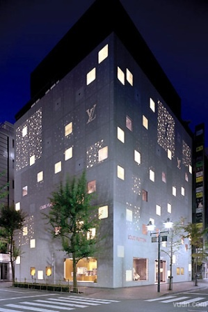 Louis Vuitton Ginza Namiki Street shop