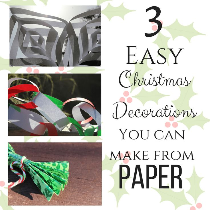 Christmas Crafts from paper - wishing on suns christmas 2016