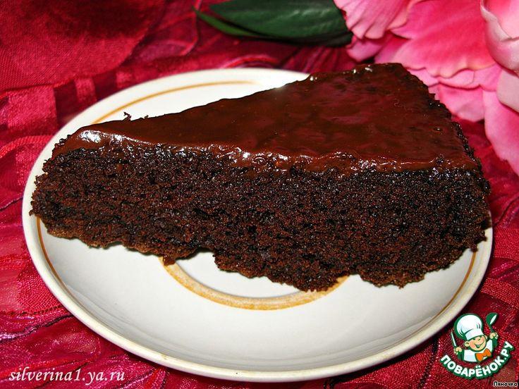 """Сумасшедший пирог """"Crazy cake"""" ингредиенты постный"""