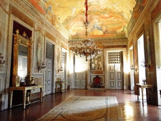 Sala do Trono do Palácio de Mafra