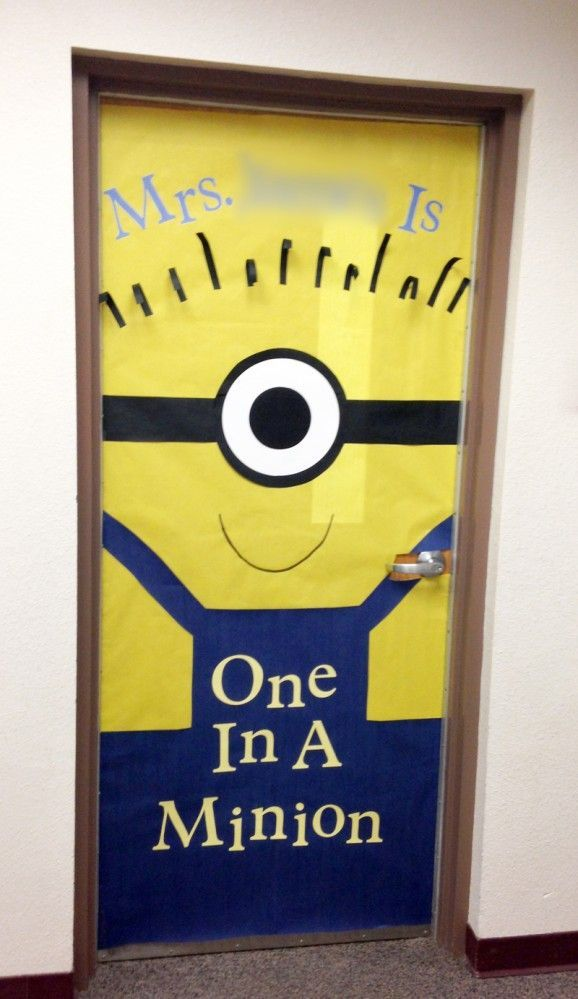 Teacher Appreciation door decorating idea