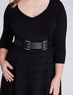 Double Buckle Stretch Belt