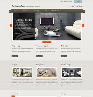 BusinessOne Business theme for WordPress