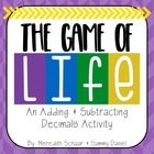 Game of Life – Adding and Subtracting Decimals Activity