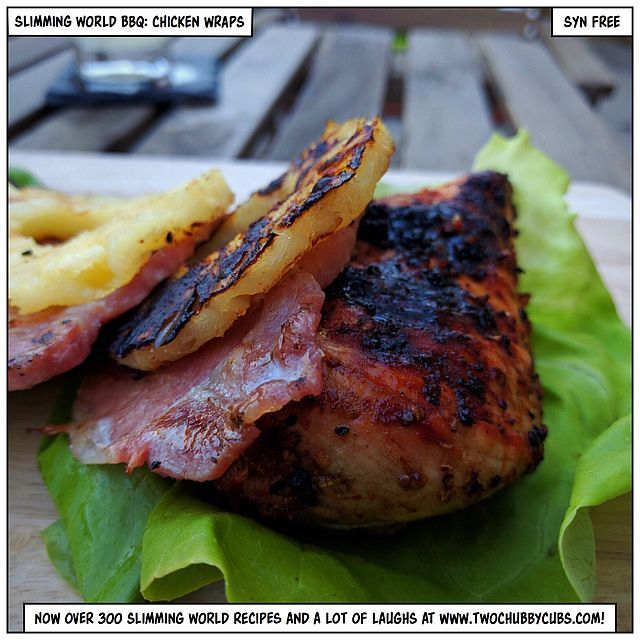 slimming world bbq: syn-free chicken wraps and mojitos   two chubby cubs   Bloglovin'
