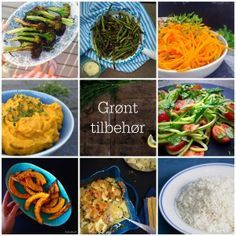 Grønne retter, du kan servere som alternativ til ris, pasta og kartofler. LCHF-tilbehør --> Madbanditten.dk