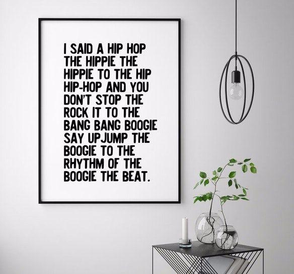 Rappers Delight Art Print By Honeymoon Hotel - Fy