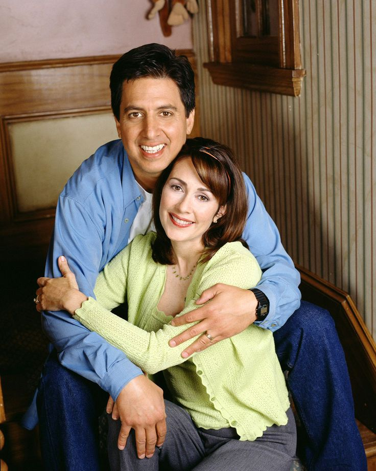 Ray Romano & Patricia Heaton...one of my favorite things to do is watch reruns of Everybody Loves Raymond:-)