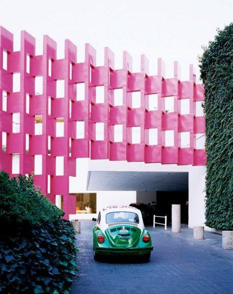 Designed By Ricardo Legorreta For The 1968 Olympics Hotel Camino Real México Is An