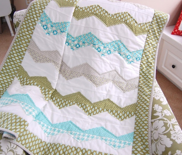 Baby boy quilt - ano great idea for Collin
