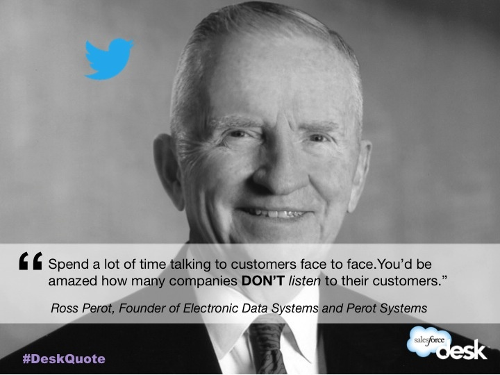 Ross Perot, Founder of Electronic Data Systems and Perot Systems #customerservice #quotes