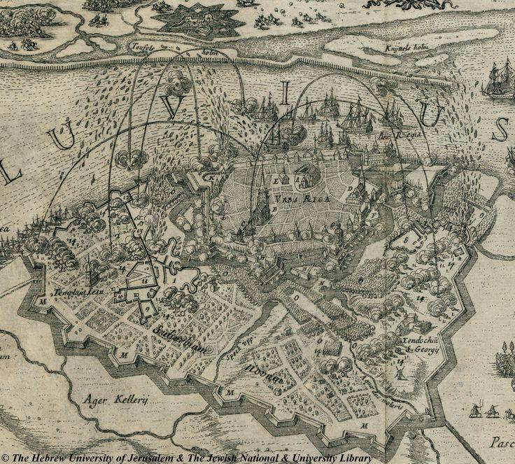 c1697 Riga city 73 best Maps images