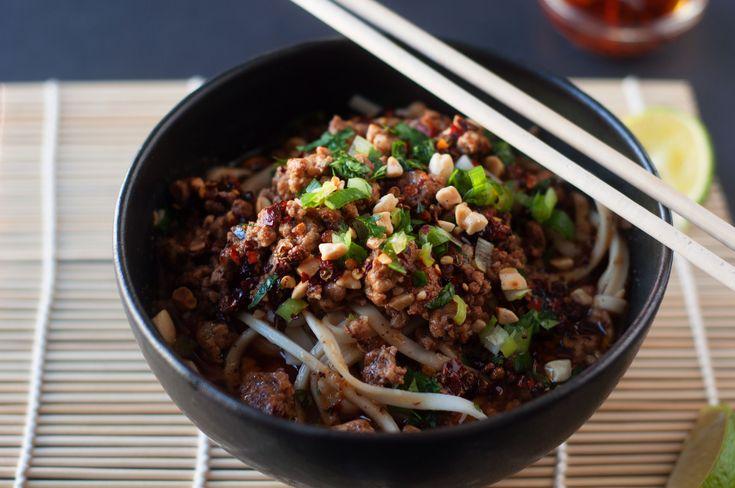 My Tribute to the Asian Grocery Store - Dan Dan Mian