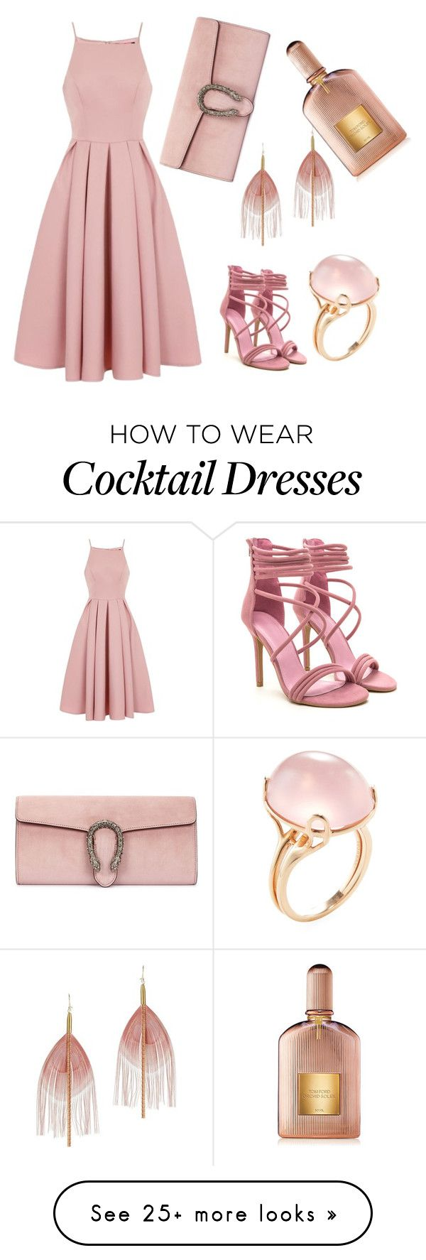 """My favorite style"" by nana-jeje on Polyvore featuring Chi Chi, Gucci, Serefina, Goshwara and Tom Ford"