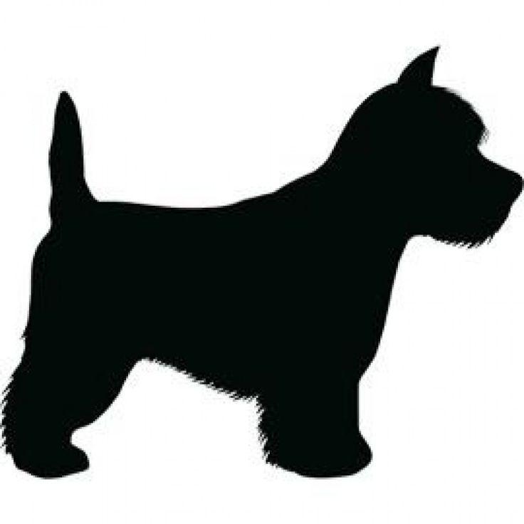 Westie silhouette