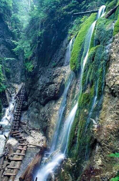 Slovak Paradise National Park Slovakia Waterfall beautiful picture nature photoshoot travel tip