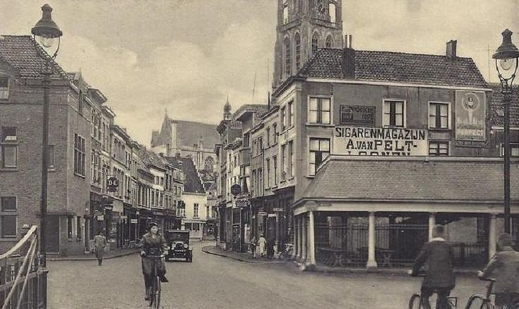 ^Vismarktstraat anno 1940