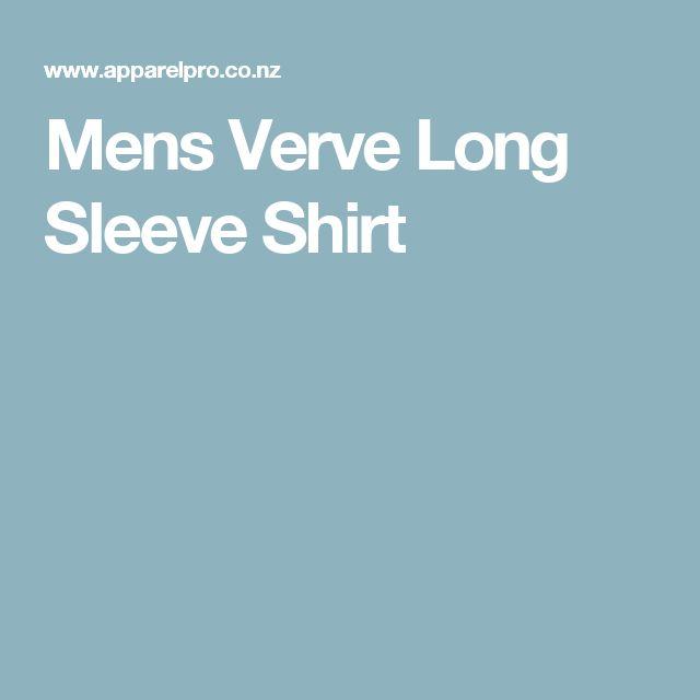 Mens Verve Long Sleeve Shirt