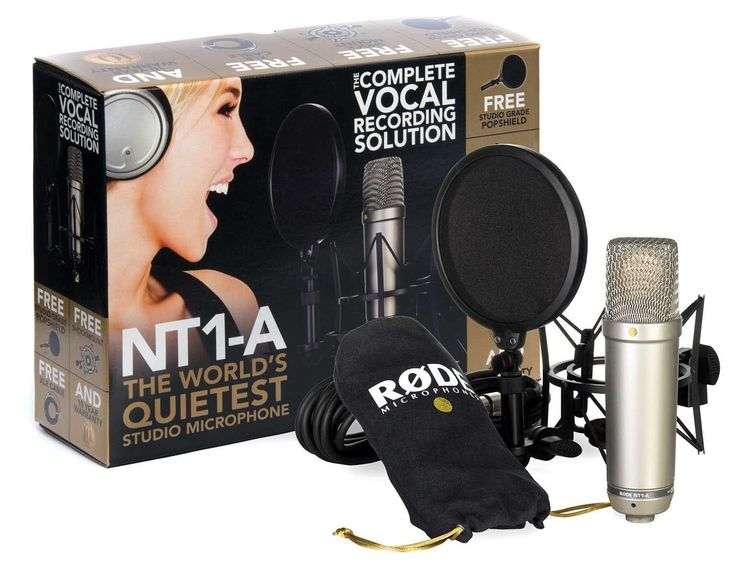 Enter to win a FREE Rode NT1A Vocal Recording Package! All entries are automatically added to the E-Home Recording Studio Newsletter.  You can unsubscribe at any time.