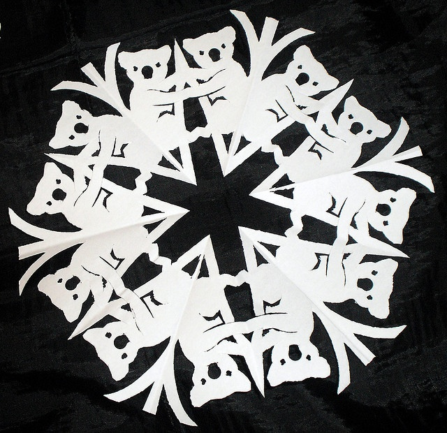 cool paper snowflakes Learn how to make paper snowflakes from the experts at martha stewart living they can be used to decorate window panes, wreaths, christmas trees, or added to wrapped gifts and cards.
