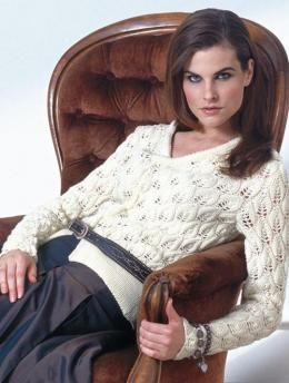 Damenjacke mit Lochmuster, 1029 - Gratisanleitung: Modisch und leicht ist diese Jacke mit Lochmuster aus Schachenmayr original Merino Extrafine 120 - ideal für die Übergangszeit und kühle Sommertage.