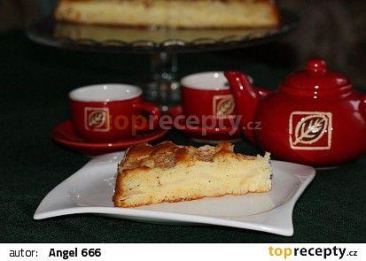 Rychlý vrstvený jablkový koláč recept - TopRecepty.cz