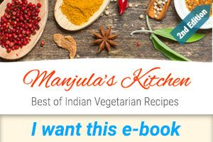 Learn how to cook Vegan Indian Recipes. In fact, many of the vegetarian recipes on manjulaskitchen can be made vegan by substituting milk with soy milk (or almond, coconut, rice milk). Feel free to experiment and adapt as you like.