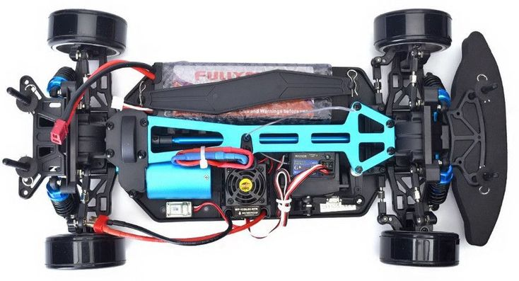 KInelabs Brushless RC Car 1/10 Electric Power 4wd On Road Rc Drift Car